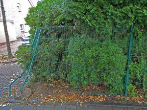 Versicherungsschaden – Zaun nach Unfall