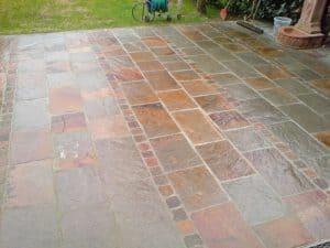 Reparatur Terrasse (nachher)