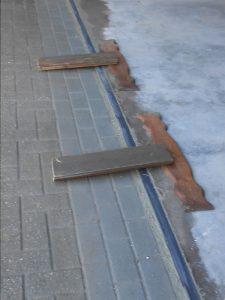Reparatur Garageneinfahrt (nachher)